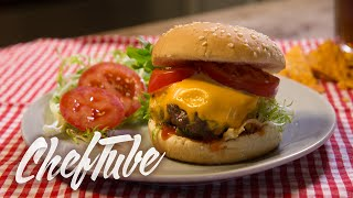 How to Make an All American Burger - Recipe in description