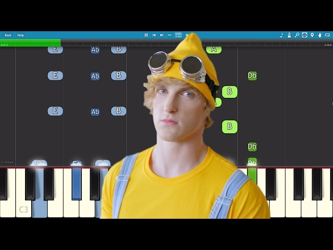 Logan Paul - Help Me Help You ft. Why Don't We - Piano Tutorial / Cover