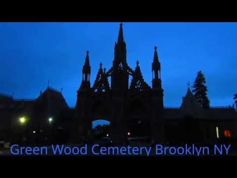 Green Wood Cemetery  After Dark Night Trolley Tour Brooklyn New York