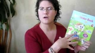 Farm Sticker Book - Kids Book Review
