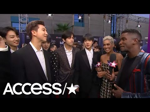 BTS Show Off Impressive Dance Moves & Talk Giving Back To Charity | Access