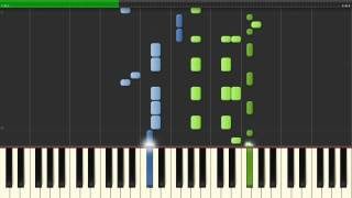 Hillsong - Oceans [where my feet may fail] (Piano Tutorial | Synthesia)