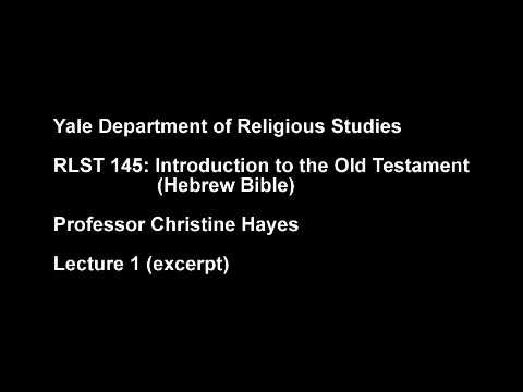 "The Hebrew Bible (""Old Testament""): Its Roots in Ancient Near Eastern Mythology"