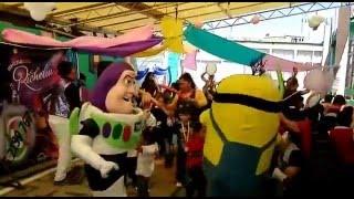 Batucada... Show de payaso para fiestas infantiles d-f- y edo de mexico