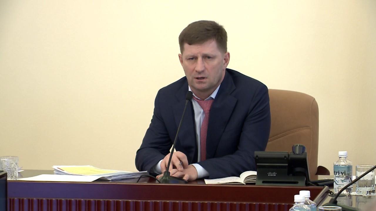 Сергей Фургал рассказал, кому в Хабаровском крае снизят транспортный налог, а кому нет апрель 2019