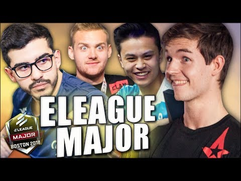 ELEAGUE Major 2018 Hype Montage (Legends & Challengers)