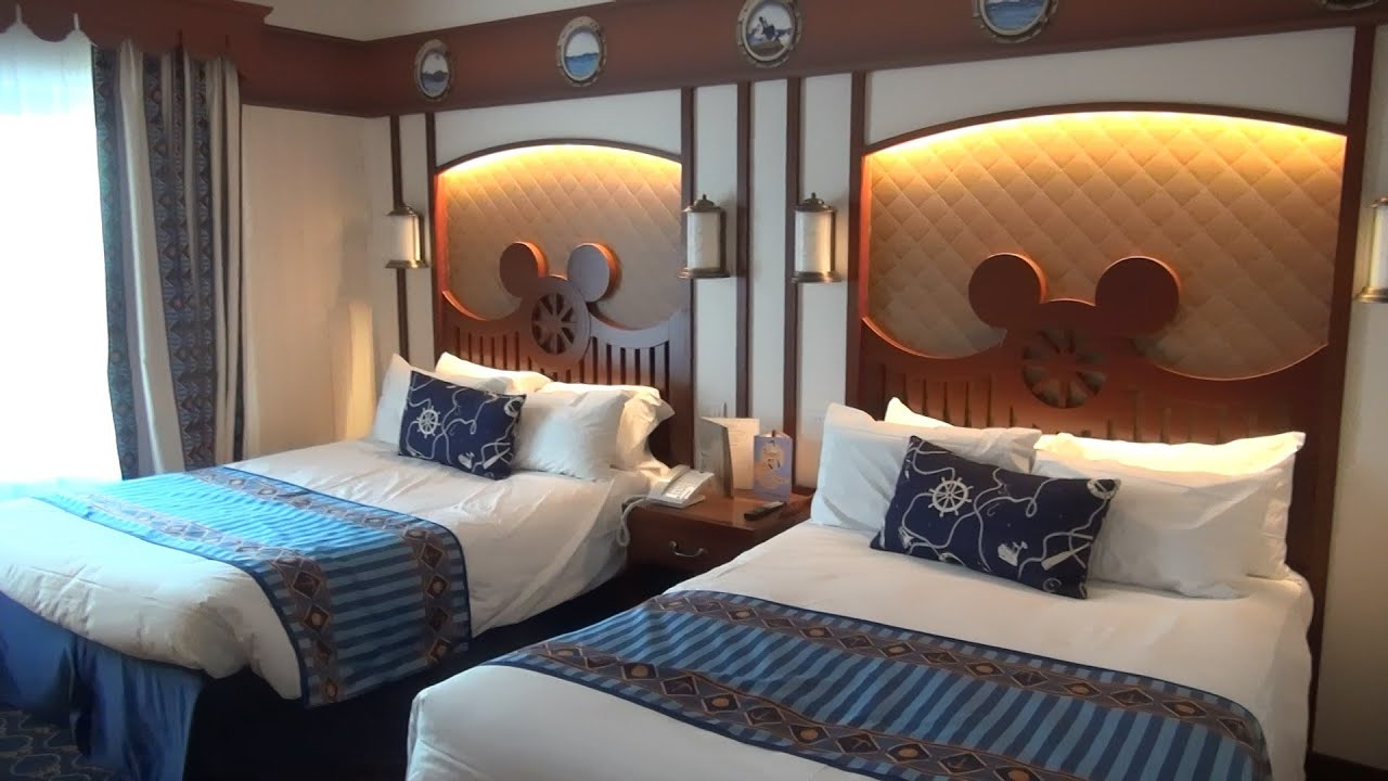 Chambre Disneyland Disney S Newport Bay Hotel Compass Club Disneyland Paris 2016