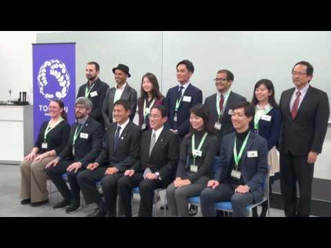 "Foreign Minister Kishida Visits Miyagi Prefecture ""Local to Global"" Project"