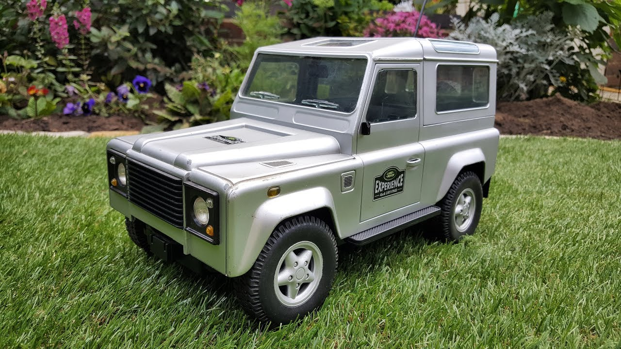 Land Rover Defender RC - Ebay Find - YouTube