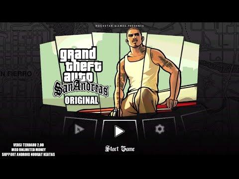 Cara Download Dan Install Game GTA San Andreas (Original) Mod Di Android