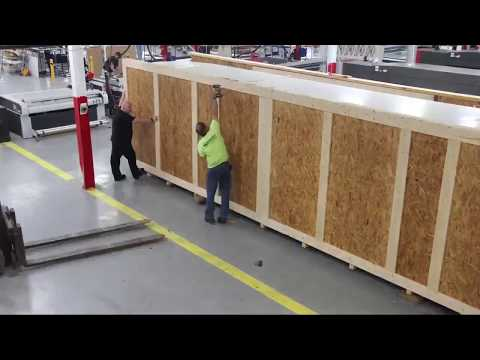 VUTEk 5r Time-lapse Installation at Indy Imaging
