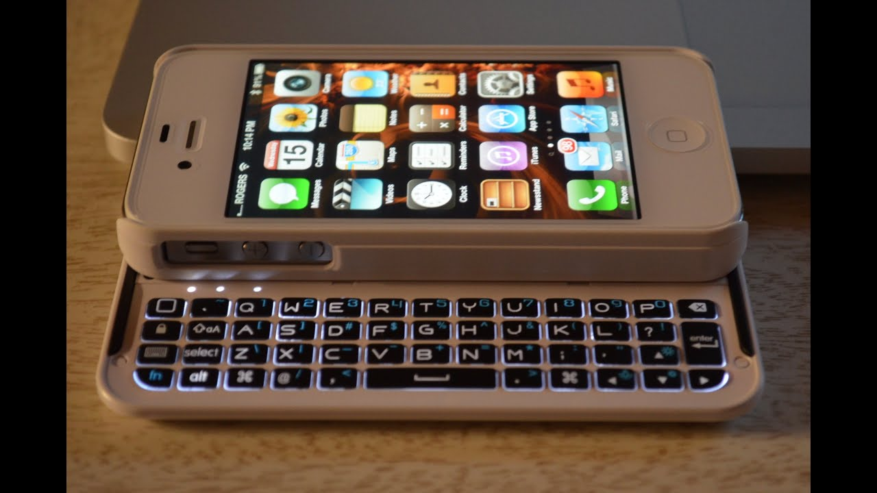 pretty nice 34114 c4f85 BoxWave Keyboard Buddy Case iPhone 4S - Full Indepth Review -HD