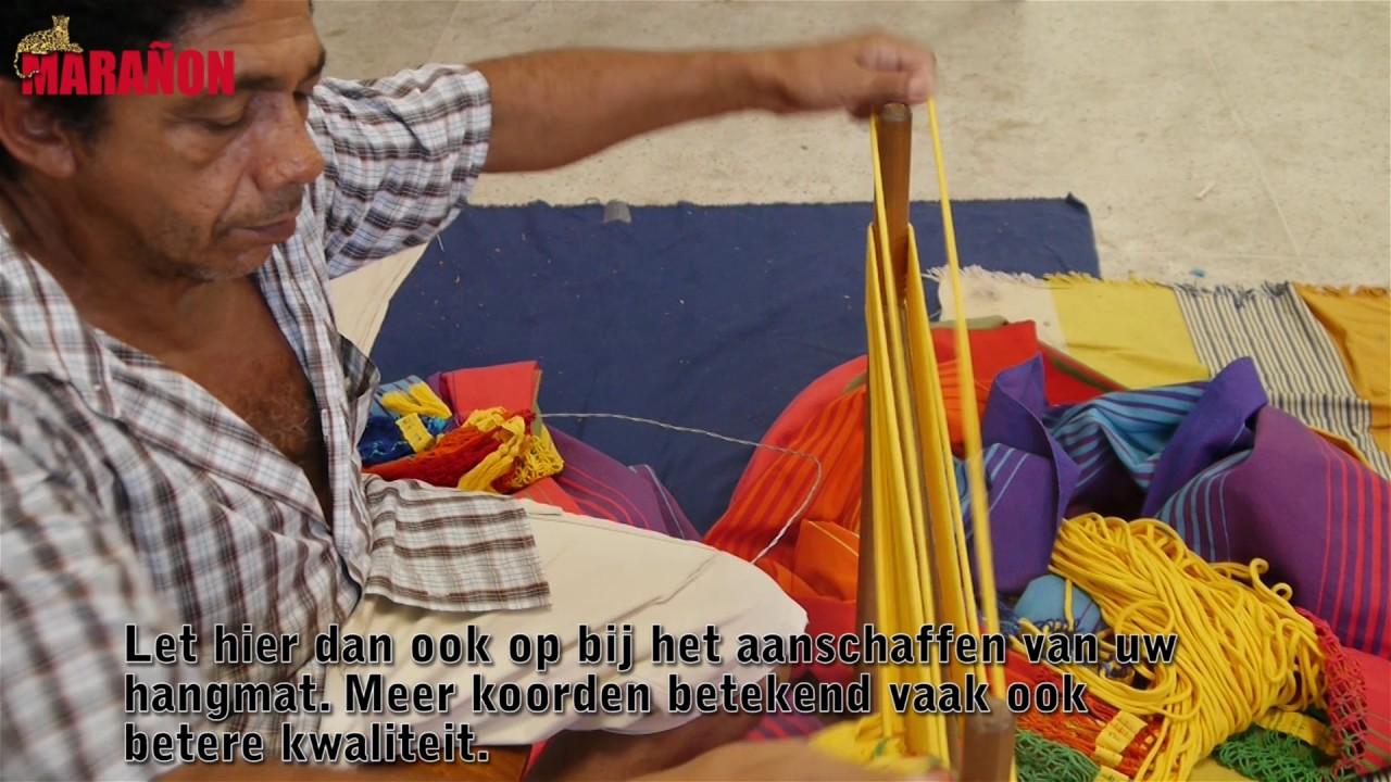 Hangmat Kopen Winkel.Hangmat Productie Van De Hangmatten Winkel Youtube