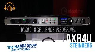 NAMM 2020 - AXR4U by Steinberg