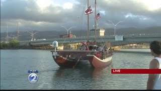 Hikianalia to join up with sister canoe Hokulea in Tahiti