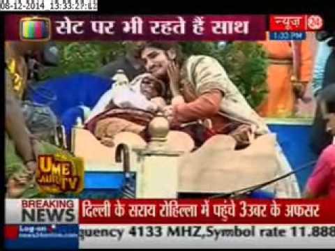 Jodha akbar :Akbar aka Rajat tokas has two bodyguard - YouTube
