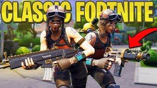 CLASSIC FORTNITE! - Season 1/2 Fortnite Guns Playlist! - Fortnite Duos