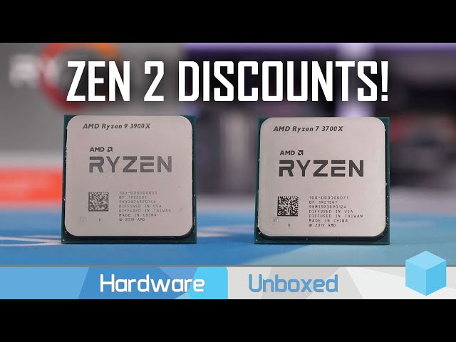 News Corner | AMD Discounts Ryzen 3000 CPUs, RX 590 GME Officially Announced