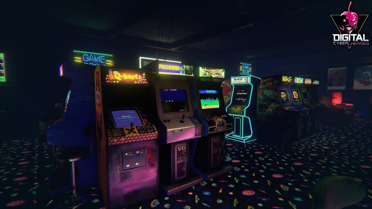 Tutorial New Retro Arcade Neon Configura 231 227 O Artes