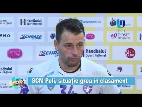 TeleU: SCM Poli, situație grea în clasament