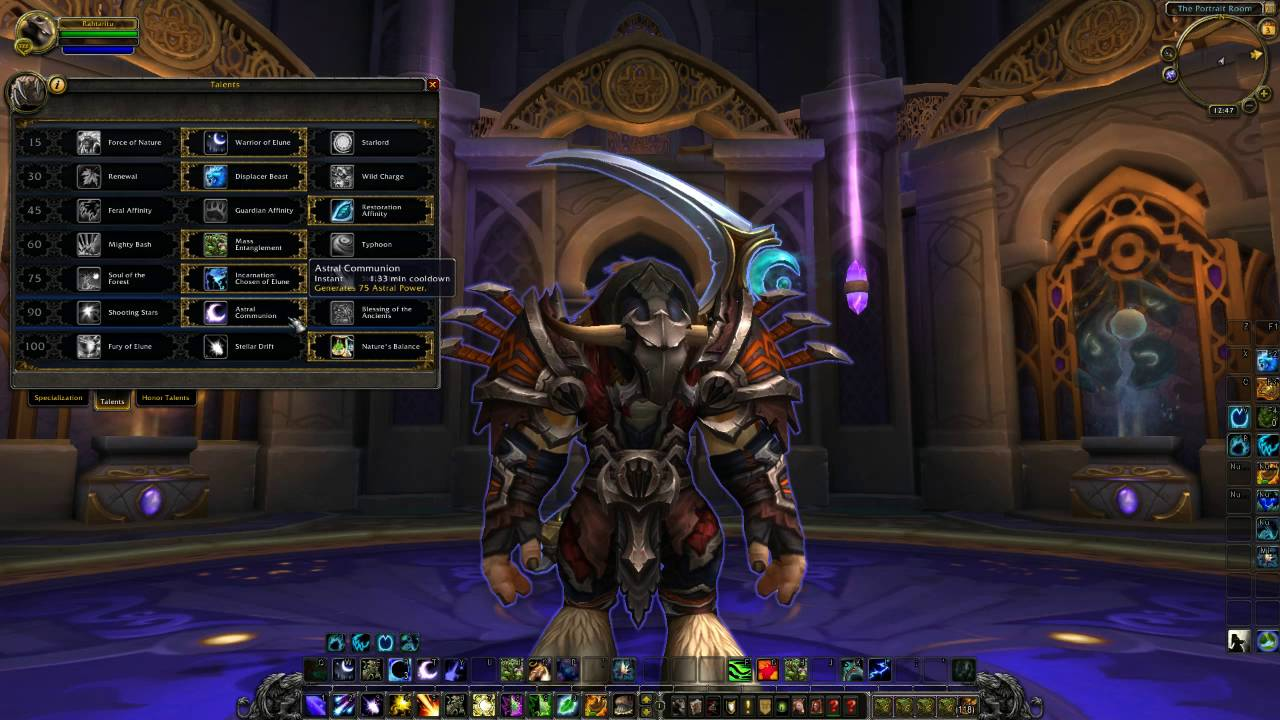 World of Warcraft: Legion Beta Balance Druid Talents and Abilities for PvP  Preview and Review