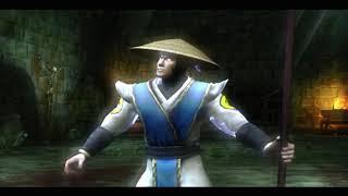 Mortal Kombat: Shaolin Monks (PS2) - прохождение вдвоём (1 часть)