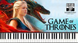 Игра престолов на пианино кавер / Game of Thrones piano cover