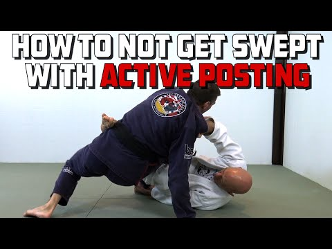 Active Posting, or How Not to Get Swept in the Guard Like Leandro Lo...