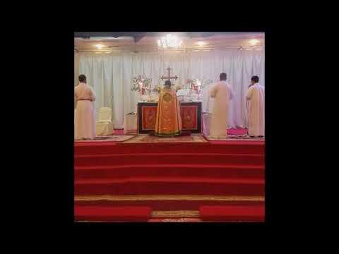 2016 Holy Communion in Kuwait City Mar Thoma Parish - Rev. Baby John