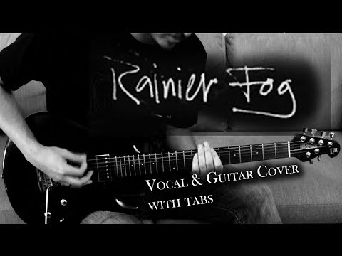 Rainier Fog - Alice In Chains | Vocal + Guitar Cover | Solo + Tabs