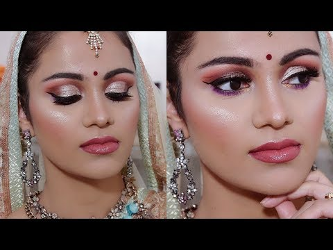 Indian BRIDAL Sangeet Makeup TUTORIAL In HINDI | Beyourself Channel