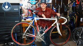 Road Bike Restoration Tune Up - 99 Lemond Zurich
