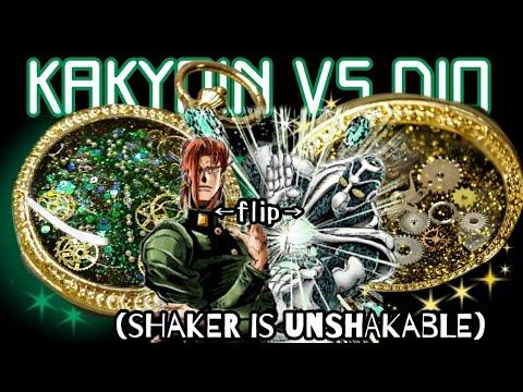 [Resin Art] SHAKER IS UNSHAKABLE- DIY Kakyoin vs DIO double sided shaker charm ⌛  Watch me Resin
