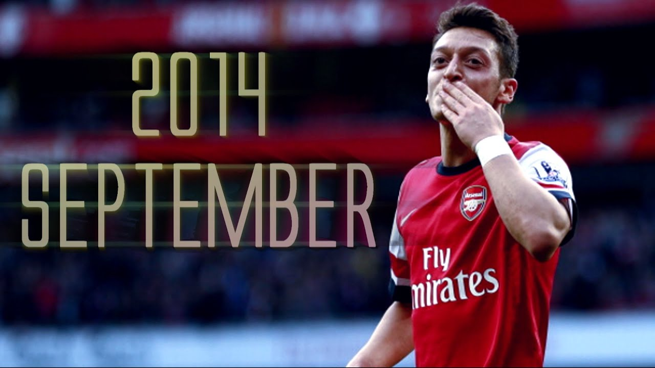 Download Mesut Özil   Monthly Review   September   2014/2015 HD