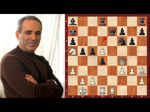 Garry Kasparov's Chess : Top Eight Sacrifices of all time! - (or at least in top 50 of most lists!)