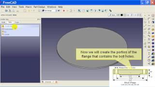 01 Intro To Freecad's Part Design Workbench Part 1