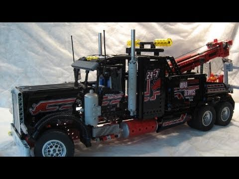 M4X's Creations - Building Lego Technic - 8285 Tow Truck - YouTube