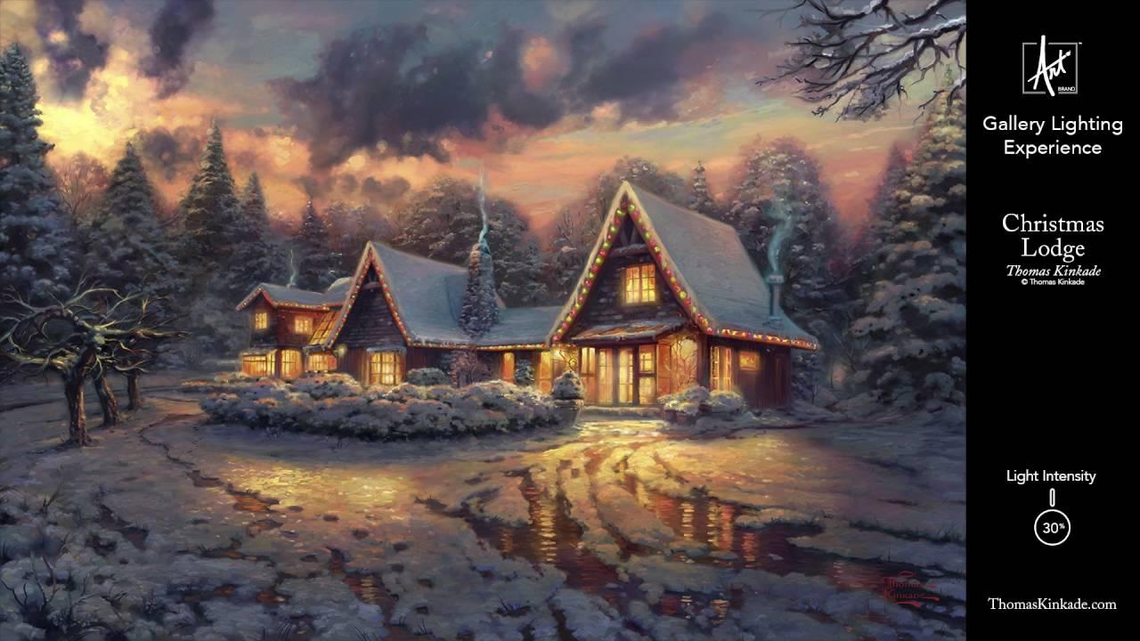 christmas lodge gallery lighting experience - Christmas Lodge