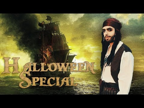 JACK SPARROW VISITS MY HOUSE *HALLOWEEN SPECIAL*