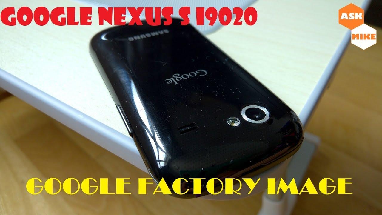 Flash Stock Factory Image Android 4 1 2 Google Samsung Nexus S i9020