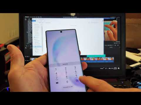 Galaxy Note 10: How to Transfer Photos & Videos to Computer w/ Cable