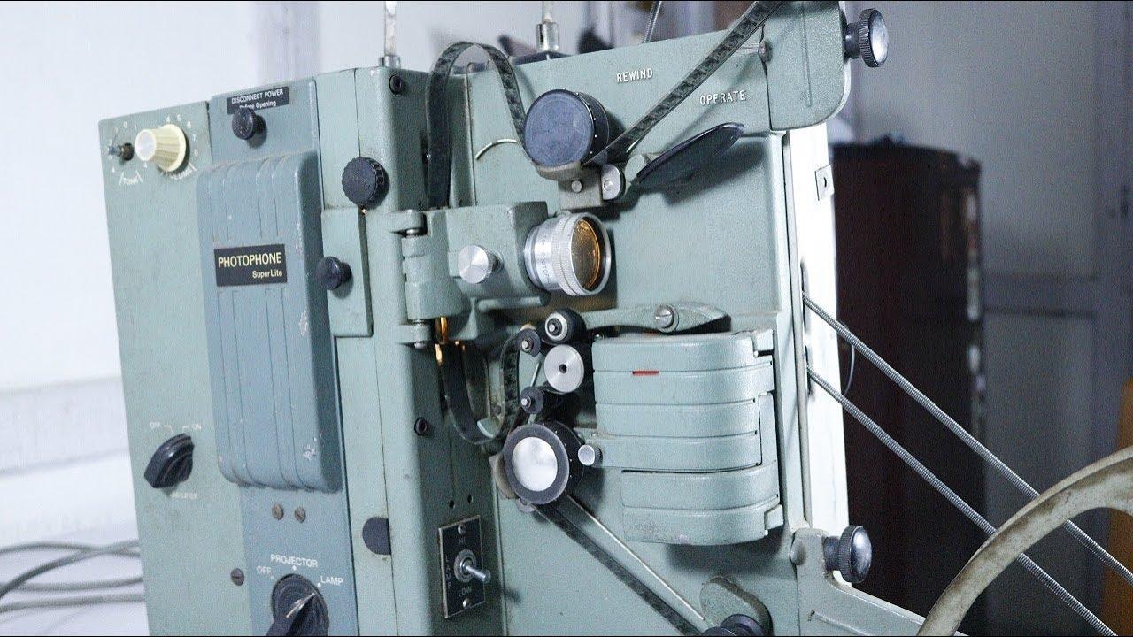 Restoring 16 mm film projector (photophone super lite), diy