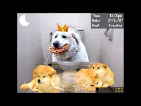 Old sport visit's the internet and give's DirectDoggo kibble pizza (Dayshift at Freddy's 2)