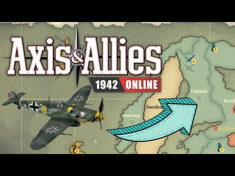 Axis & Allies 1942 Online: Fighters On Finland  