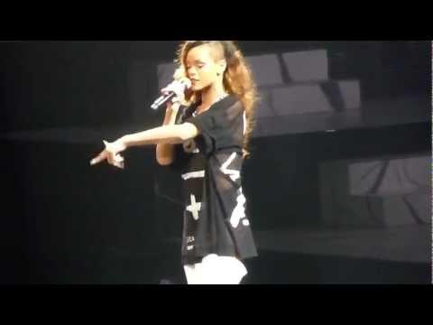 "Rihanna ""No Love Allowed"" Live San Jose"