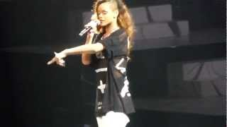 "Rihanna ""No Love Allowed"" Live San Jose"