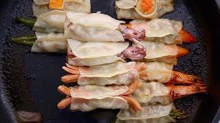 【1mintips】意想不到?煎餃鍋貼可以這樣包!沒想過的創新吃法,必分享!