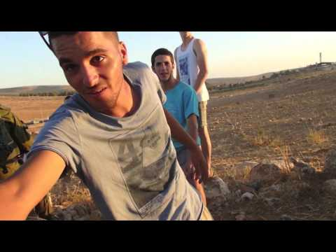 2017-07-30 Susya Settlers Entered Palestinian Land In Front Of Israeli Soldiers