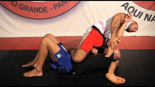 BJJ Cyborg No Gi Triangle #1 From Knee On Belly BJJ