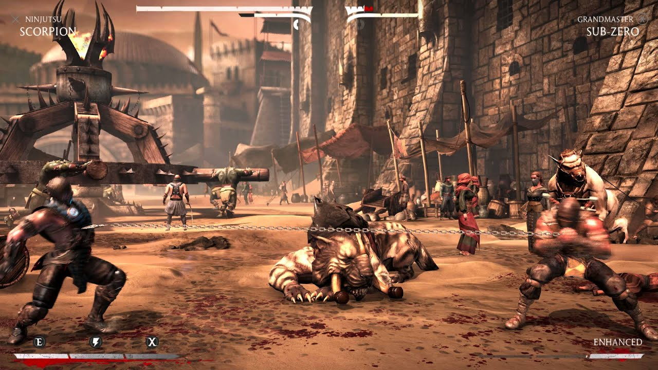 Master Scorpion's Moves in MKX